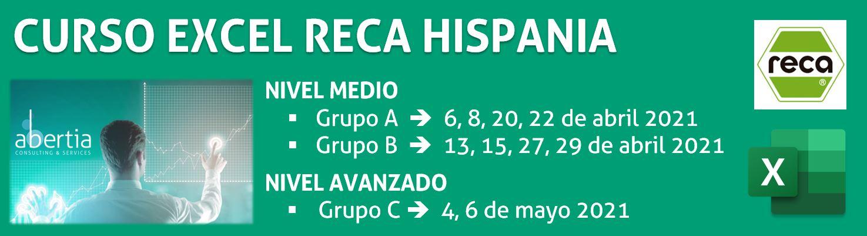 Excel Avanzado -  RECA HISPANIA - ABERTIA