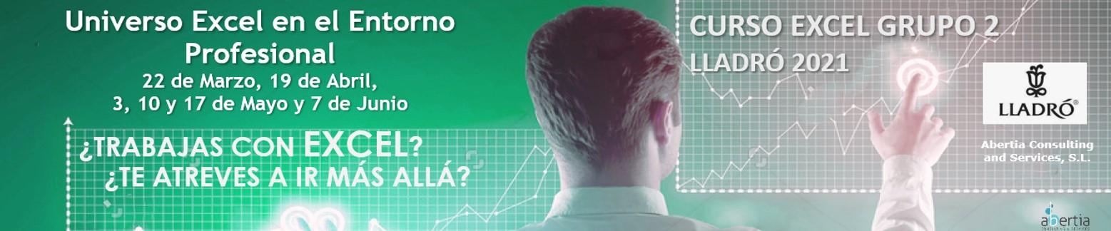Curso MS Excel Lladró. Edición Marzo - Junio 2021. Grupo 2.
